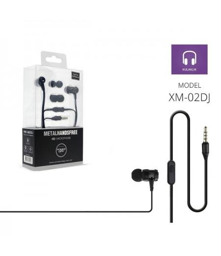 Powerway PWR-XM05Dj Mavi Extra Deep Bass Mikrofonlu Kulak İçi Kulaklık