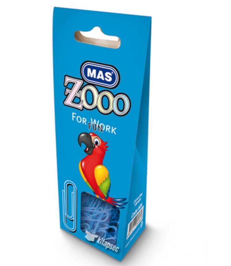 Mas 606 Zoo 100 Adet Karton Pakette Renkli Ataş