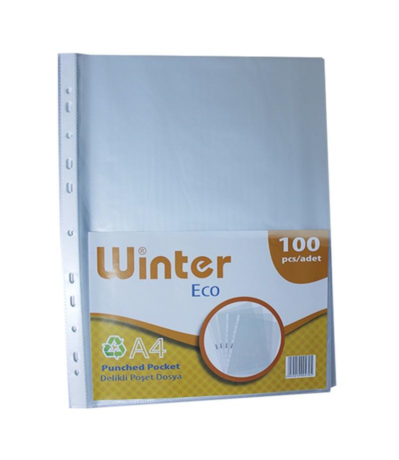 Winter Eco Poşet Dosya A4 100lü
