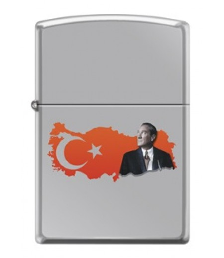 Zippo Atatürk ve Türk Bayrağı