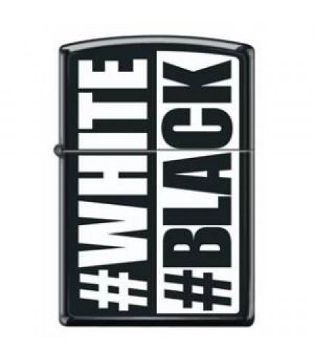 Zippo White-Black