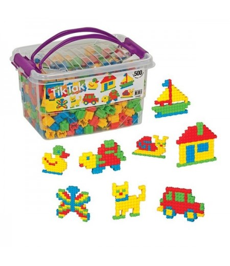 Tik Tak Box 500 Parça Oyuncak Lego Vip Kutu