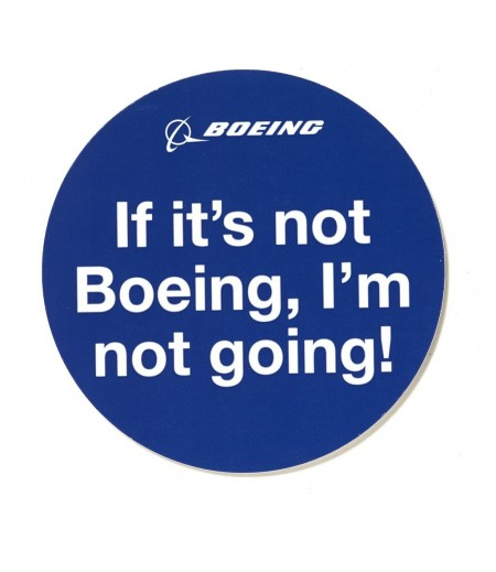 If its not boeing Im not going