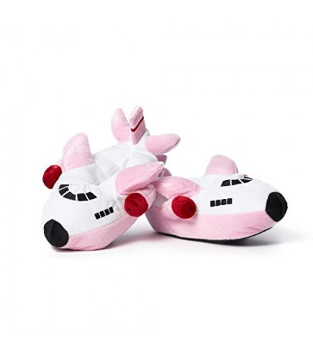 Airplane Slippers - Pink