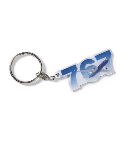 767 Sky Keychain