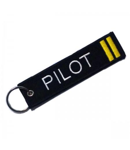 2'li Sırma Pilot Bez Anahtarlık