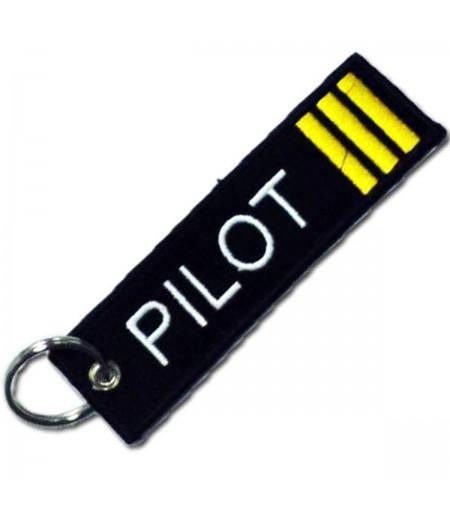 3′lü Sırma Pilot Bez Anahtarlık