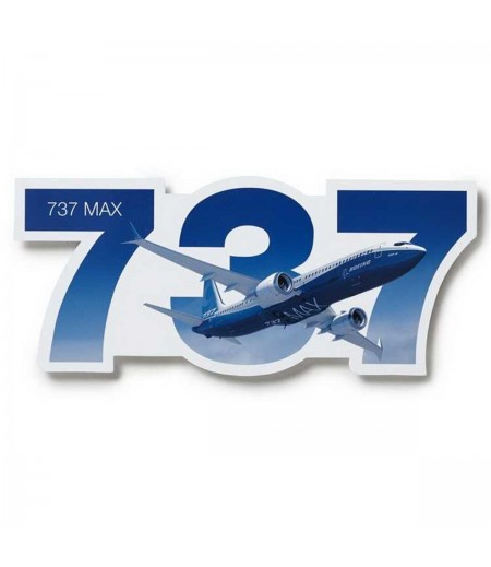 737 MAX Die-Cut Sticker