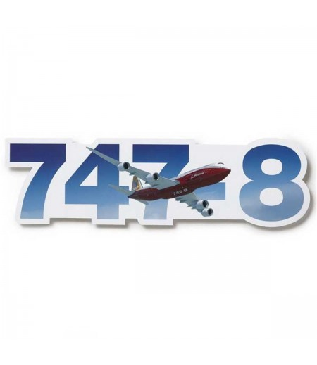 747-8 Die-Cut Sticker