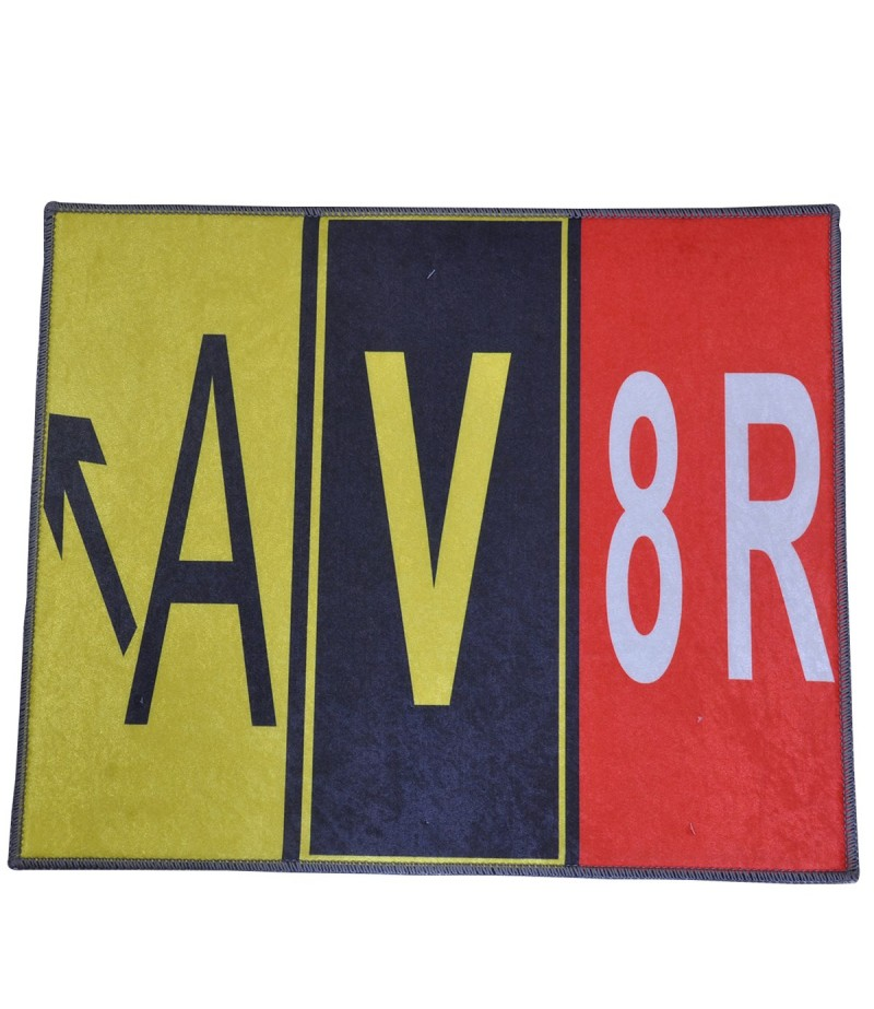 A-V-8R Yazılı 2'li Banyo Takımı