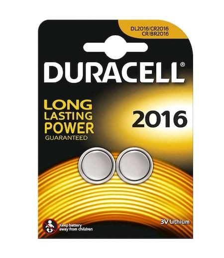 Duracell Düğme Pil 2016 3 Volt 2li