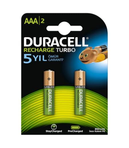 Duracell Pil AAA Şarj Edilebilir 750mAh 2li
