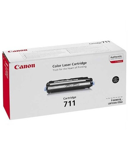 Canon CRG-711BK Laser Toner Siyah