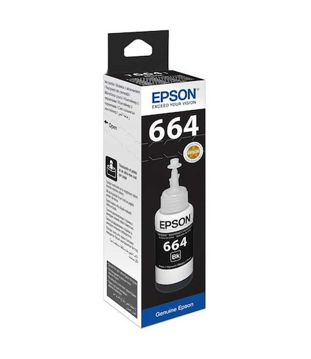 Epson C13T6641A Siyah Mürekkep Kartuş 70ml