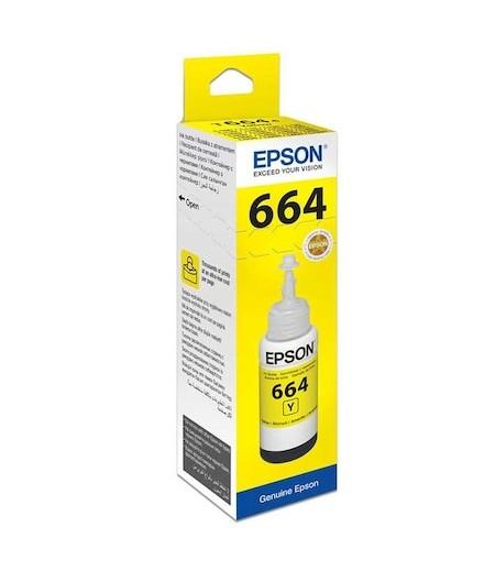 Epson C13T6644A Sarı Mürekkep Kartuş 70ml