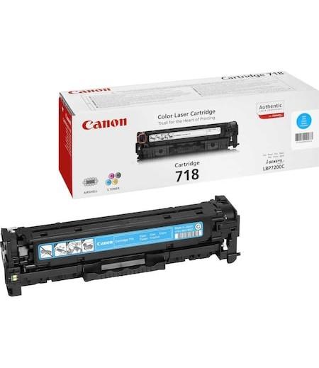 Canon 718C Laser Toner Mavi