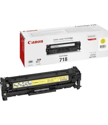 Canon 718Y Laser Toner Sarı