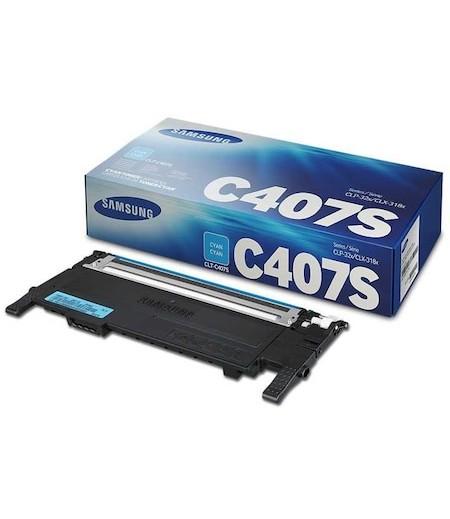 Samsung CLT-C407S Laser Toner Mavi 1.000 Sayfa