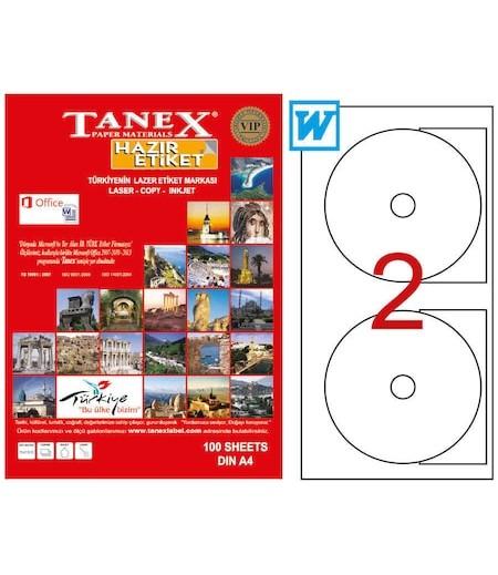 Tanex Cd Etiketi 117mm TW-3117