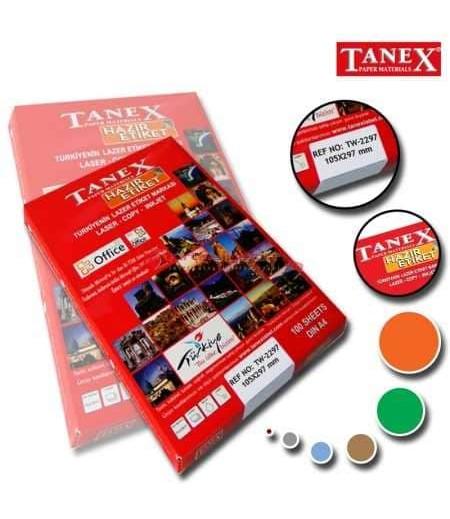 Tanex Etiket Laser 105x297 TW2297