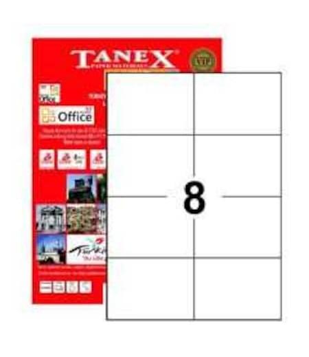 Tanex Etiket Laser 105x74.25 TW-2374