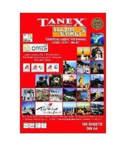 Tanex Etiket Laser  66.5x41 TW-2421