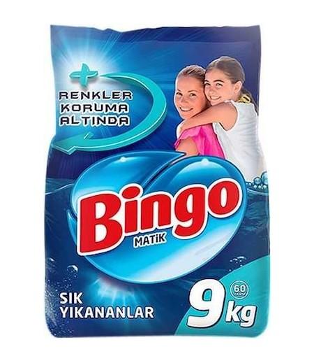 Bingo Matik Çamaşır Deterjanı 9kg