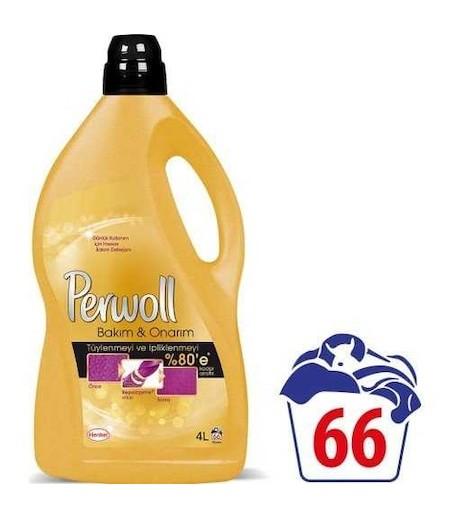 Perwoll Sıvı Çamaşır Deterjanı Bakım ve Onarım 4lt