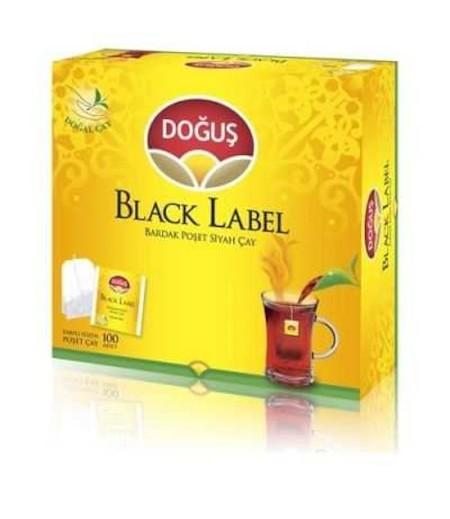 Doğuş Black Label Süzen Bardak Poşet Çay 100lü