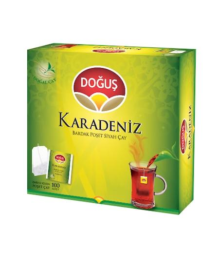 Doğuş Karadeniz Bardak Poşet Çay Bergamot Aromalı 100lü