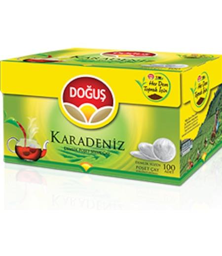 Doğuş Karadeniz Demlik Poşet Çay Bergamot Aromalı 100lü