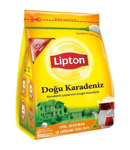 Lipton Doğu Karadeniz Demlik Poşet Çay 250li