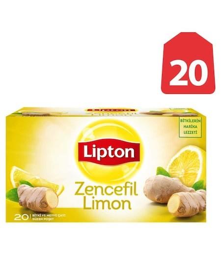 Lipton Form Plus Zencefil-Limonlu 20li