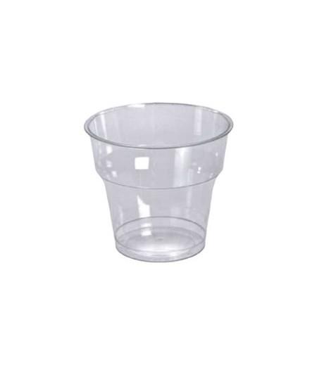 Plastik Kristal Bardak 50li