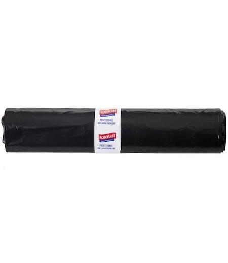 Koroplast Çöp Poşeti Extra Dayanıklı 55x60 Siyah