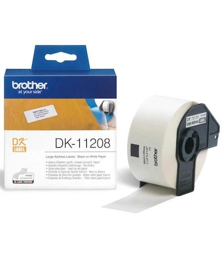 Brother P-Touch Genis Adres Etiketi 38mmx90mm DK11208