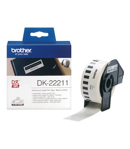 Brother P-Touch Sürekli Film Etiket 29mmx15.24m DK22211