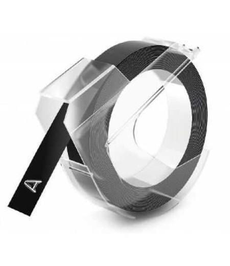 Dymo Kabartma Şerit Siyah 9mm