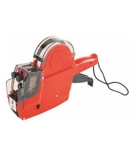 Kraf Etiket Makinesi Çift Kafalı 6600 Ters Alfabe-Rakam