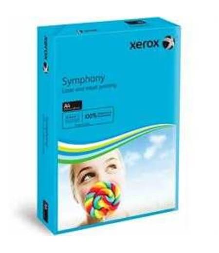 Xerox Symphony A4 Renkli Fotokopi Kağıdı 80gr Koyu Mavi