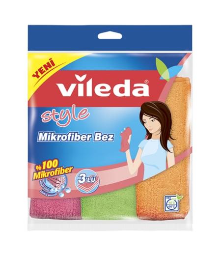 Vileda Mikrofiber Temizlik Bezi 3lü