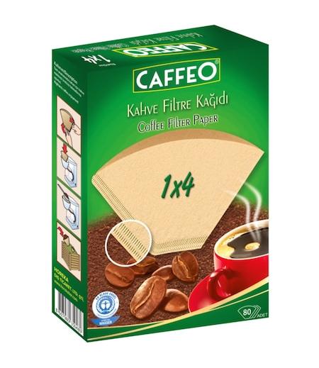 Caffeo Kahve Makinesi Filtresi 1x4