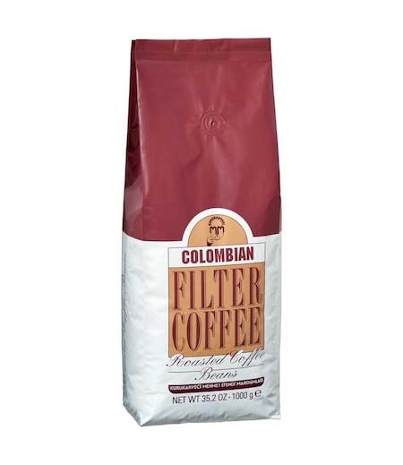 Mehmet Efendi Colombian Filter Coffee 1000gr Kavrulmuş çekirdek