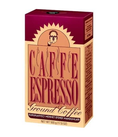 Mehmet Efendi Espresso 500gr Öğütülmüş