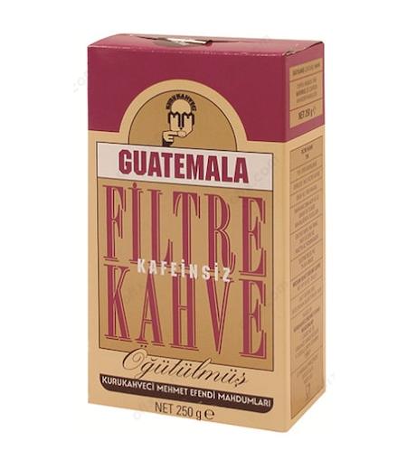 Mehmet Efendi Guatemala Kafeinsiz Filtre Kahve 250gr