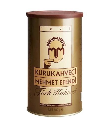 Mehmet Efendi Türk Kahvesi 500gr Teneke Kutu