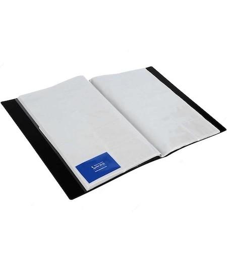 Serve Geniş 600lü Kartvizit Albümü Siyah Sv-6600