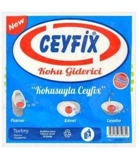 Ceyfix Pisuvar Çilek-Limon Kokulu Süzgeç