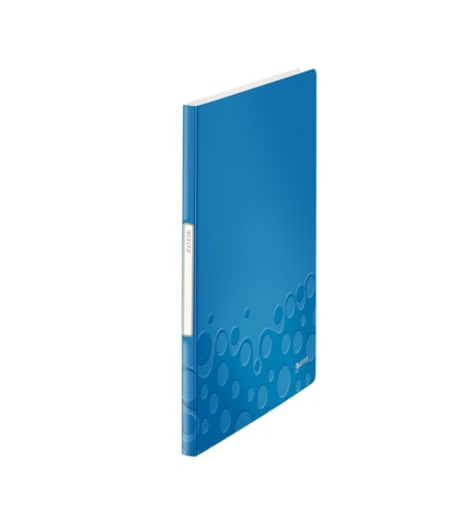Leitz Active Sunum Dosyası 20 Poşetli Metalik Mavi
