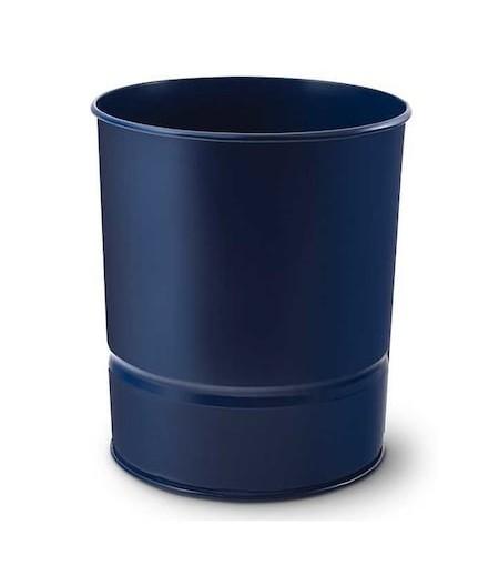 Mas Metal Çöp Kovası 10lt Mavi